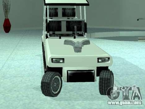 Limgolf para GTA San Andreas vista posterior izquierda