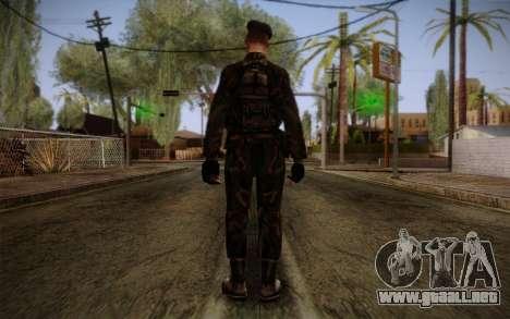 Soldier Skin 2 para GTA San Andreas segunda pantalla