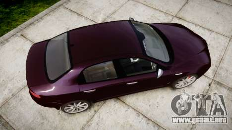 Alfa Romeo 159 TI V6 JTS para GTA 4 visión correcta