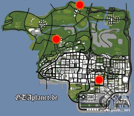 La recuperación de las estaciones de Los Santos para GTA San Andreas