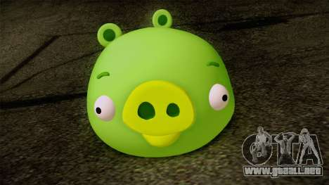 Pig from Angry Birds para GTA San Andreas tercera pantalla