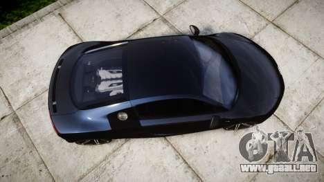 Audi R8 plus 2013 HRE rims para GTA 4 visión correcta
