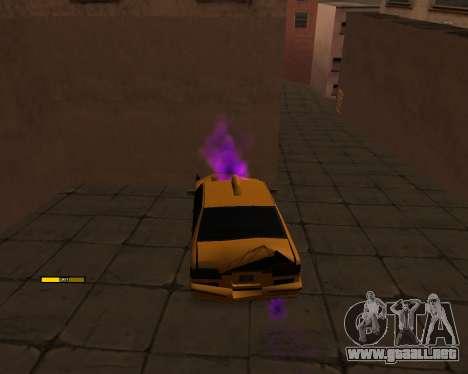 Indicador de HP coche para GTA San Andreas segunda pantalla