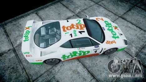 Ferrari F40 1987 [EPM] Jolly Club para GTA 4 visión correcta