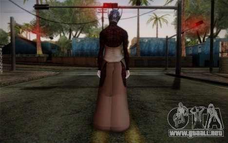 Benezia Beta Final from Mass Effect para GTA San Andreas segunda pantalla
