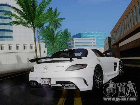 ENBSeries para PC débil v4 para GTA San Andreas quinta pantalla