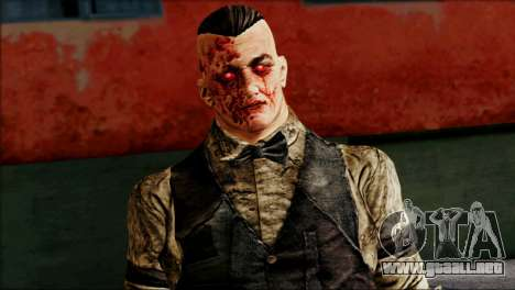 Outlast Skin 2 para GTA San Andreas tercera pantalla