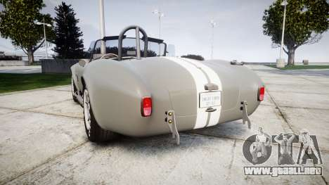 AC Cobra 427 PJ1 para GTA 4 Vista posterior izquierda