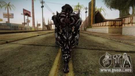 Alex Armored from Prototype 2 para GTA San Andreas segunda pantalla