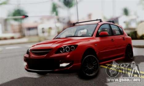 Mazda 3 MPS para GTA San Andreas