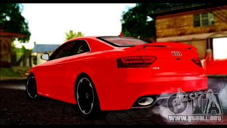 Audi RS5 Coupe para GTA San Andreas left