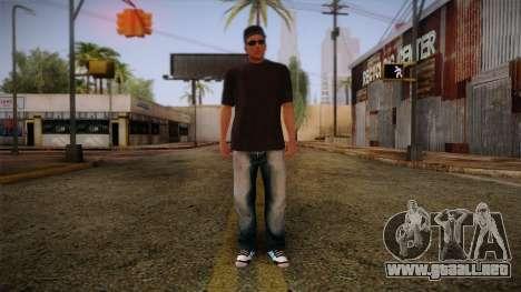 Gedimas Wmybar Skin HD para GTA San Andreas