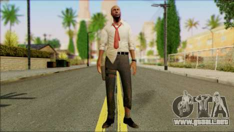Left 4 Dead Survivor 2 para GTA San Andreas
