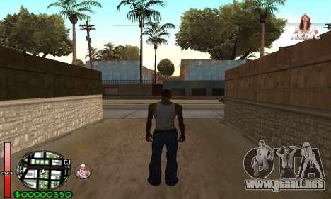 С-HUD Medic para GTA San Andreas