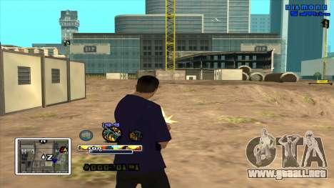 C-HUD Color para GTA San Andreas tercera pantalla