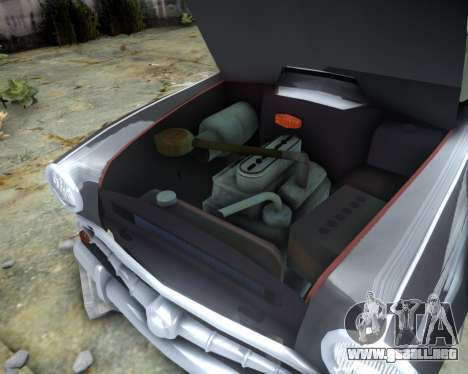 Moskvich 407 para GTA 4 vista interior