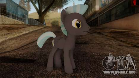 Thunderlane from My Little Pony para GTA San Andreas