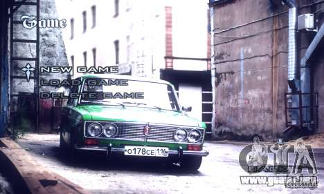 Menú De Coches Rusos para GTA San Andreas tercera pantalla