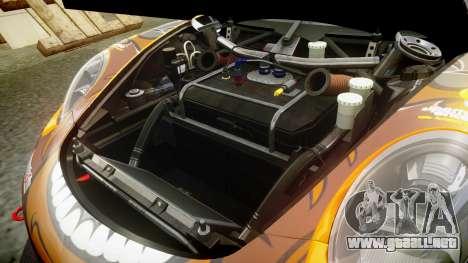 RUF RGT-8 GT3 [RIV] Bear para GTA 4 vista interior