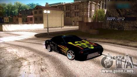 Vinilos para Elegía para GTA San Andreas tercera pantalla