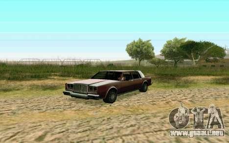 ENB la media y débil PC para GTA San Andreas tercera pantalla