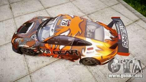 RUF RGT-8 GT3 [RIV] Bear para GTA 4 visión correcta