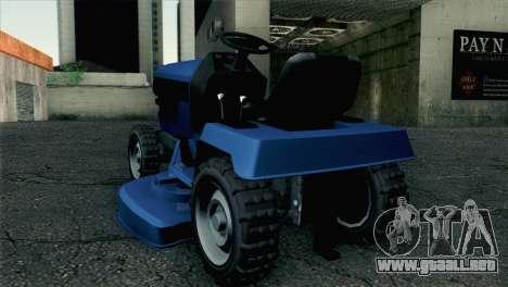 GTA V Mower para GTA San Andreas left