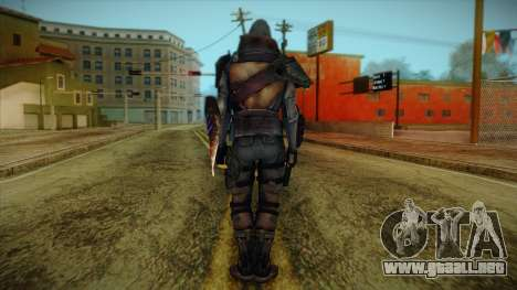 Blackwatch from Prototype 2 para GTA San Andreas segunda pantalla