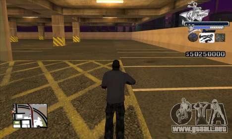C-HUD Shark para GTA San Andreas tercera pantalla