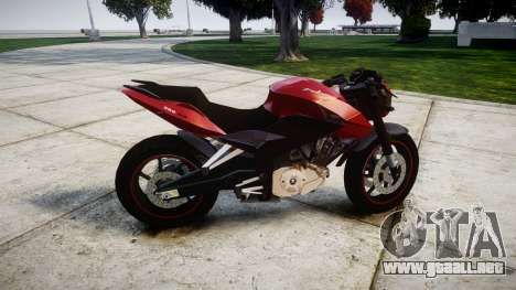 Bajaj Pulsar 200NS Custom para GTA 4 left