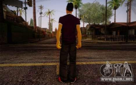 Ginos Ped 28 para GTA San Andreas segunda pantalla
