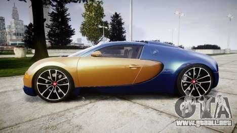 Bugatti Veyron 16.4 v2.0 para GTA 4 left