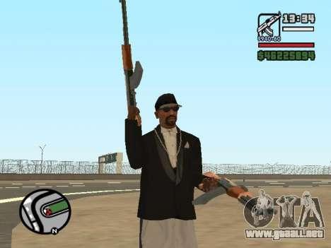 Doble propiedad de todas las armas para GTA San Andreas
