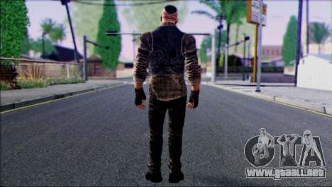 Outlast Skin 2 para GTA San Andreas segunda pantalla