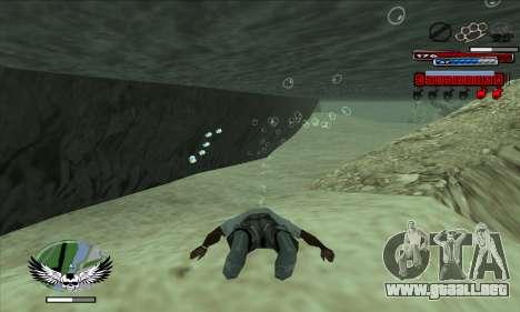 C-HUD by Kir4ik para GTA San Andreas segunda pantalla
