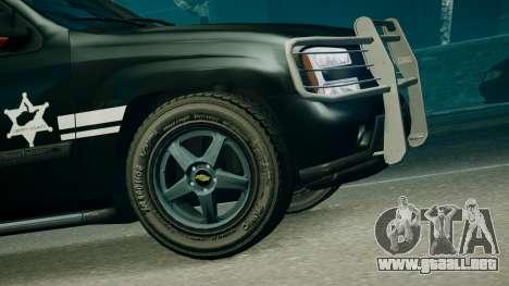 SUV TRBZ para GTA 4 Vista posterior izquierda