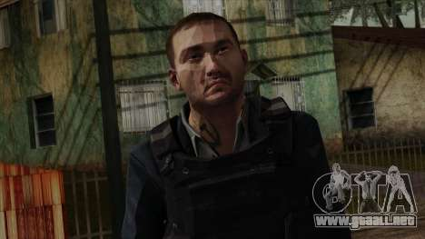 Modern Warfare 2 Skin 20 para GTA San Andreas tercera pantalla