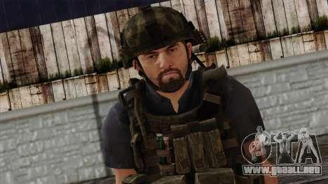 Modern Warfare 2 Skin 12 para GTA San Andreas tercera pantalla