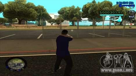 C-HUD Lopez para GTA San Andreas tercera pantalla