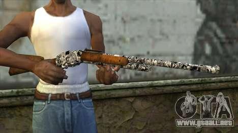 Nuevo Rifle para GTA San Andreas tercera pantalla