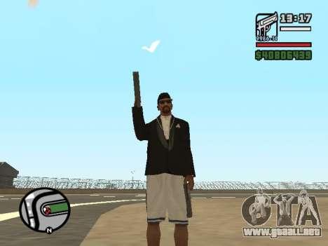 Doble propiedad de todas las armas para GTA San Andreas tercera pantalla