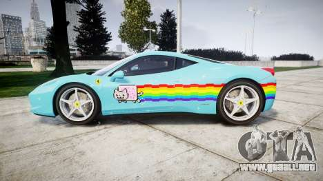 Ferrari 458 Italia 2010 v3.0 Purrari para GTA 4 left