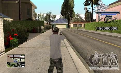 C-HUD Shark para GTA San Andreas