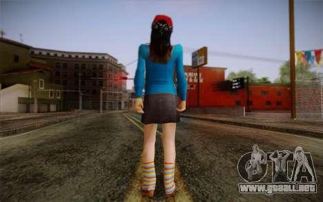 Ginos Ped 5 para GTA San Andreas segunda pantalla