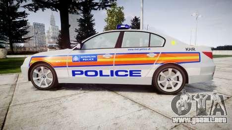 BMW 525d E60 2010 Police [ELS] para GTA 4 left