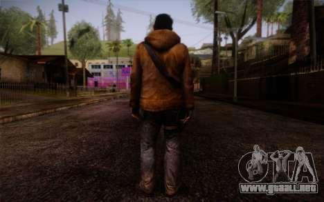 Louis from Left 4 Dead Beta para GTA San Andreas segunda pantalla