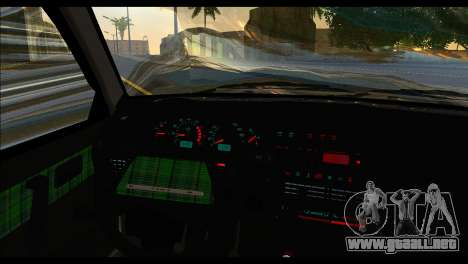 ВАЗ 2113 Postura Nación para GTA San Andreas vista posterior izquierda