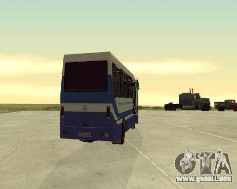 BASES de datos de UN Turista para la visión correcta GTA San Andreas