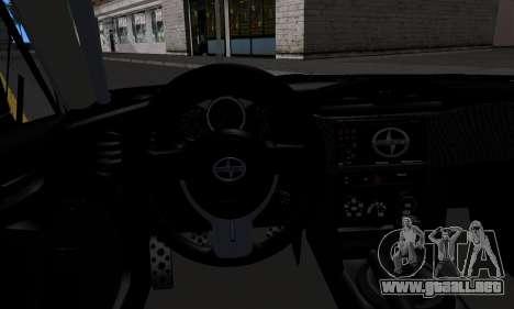 Scion FR-S (IVF) para la visión correcta GTA San Andreas