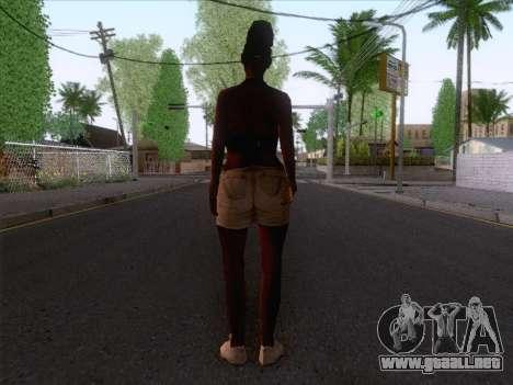 New Ballas Skin 3 para GTA San Andreas segunda pantalla